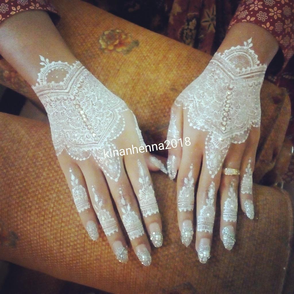 White Glitz Henna By Kinanhenna Purwokerto 49henapurwokerto